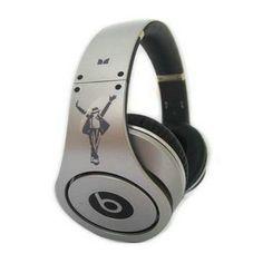 Beats By Dr Dre Studio Michael Jackson Gray Headphone