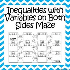 Worksheets Variables On Both Sides Worksheet equations with variables on both sides maze from amazing great worksheet alternative love that it has space in each box for students to show