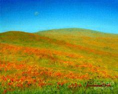 Wild Poppies  Painting