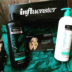 Tresemmes reverse your routine shampoo and conditioner got this product free. @influenster #ReverseYourRoutine