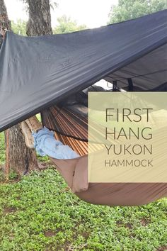 I tried out my Yukon Outfitters Mosquito XL for the first time. It's so comfortable that I can't wait to take it camping. I Tried, Hammock, Outdoor Gear, First Time, Tent, Camping, Magazine, Campsite, Store