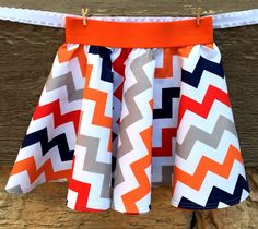 Chevron Cirlce Skirt - what a fun birthday gift this would be!