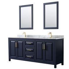 Marble Vanity Tops, Marble Top, Carrara Marble Countertop, Bathroom Countertops, Soft Close Drawer Slides, Square Sink, Vanity Set With Mirror, Cabinet Space, Double Vanity