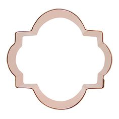 Cyprus Plaque Cookie Cutter 4 inch measures about 4 x 3-3/4 inches at the widest and tallest points. Use this unique cutter to make fancy announcement, invitation or place setting cookies. $16