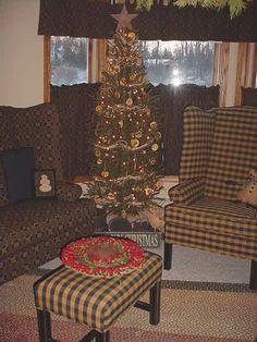Primitive Christmas Decorating Ideas   having a primitive christmas - Living Room Designs - Decorating Ideas ...