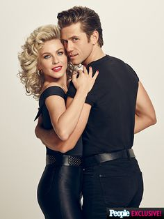FIRST LOOK: Julianne Hough, Vanessa Hudgens and Aaron Tveit in Grease: Live http://www.people.com/article/grease-live-exclusive-first-look-vanessa-hudgens-aaron-tveit-julianne-hough