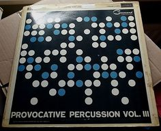 ENOCH LIGHT PROVOCATIVE PERCUSSION VOL III 1961 LONDON HA-Z.2411 MONO EXCELLENT+