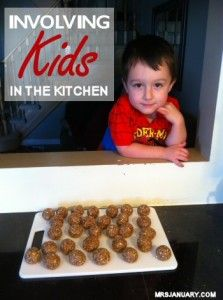Kids & Cooking  Tips to get Kids in the Kitchen with you!