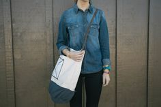 Always Rooney: Carry-All Mail Bag | DIY