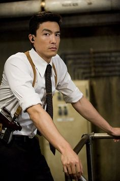 An equally fearsome warrior is Agent Zero, an expert tracker with lethal marksmanship skills, played by Daniel Henney. Description from clickthecity.com. I searched for this on bing.com/images