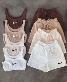 Cute Lazy Outfits, Trendy Summer Outfits, Sporty Outfits, Retro Outfits, Stylish Outfits, Nike Outfits, Tomboy Fashion, Teen Fashion Outfits, Look Fashion