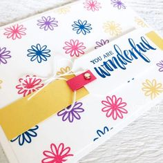 These supplies are perfect for making simple handmade cards for friends. And don't we all need to send more cards! Make Your Own Background, Creative Background, Handmade Cards For Friends, Greeting Cards Handmade, Ink Pads, Free Paper, Kids Cards, Thank You Cards, Stamping