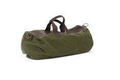DECK - week end bag tela militare + pelle