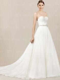 New Tulle Strapless Corset Wedding Dress CS
