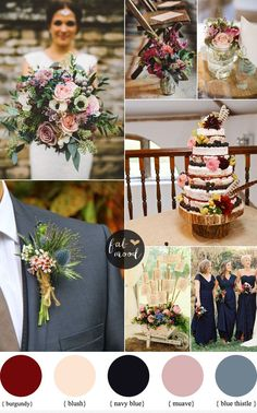Looking for Wedding flowers for autumn? How to use Autumn wedding flowers | fabmood.com #weddingflowers