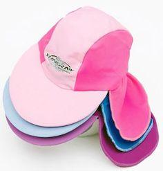 Baby Kids Girls UV Sun Protection Legionnaire red Hat Cap 50UPF