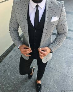 mens wedding suits top hat and tails Blazer Outfits Men, Mens Fashion Blazer, Suit Fashion, Men Blazer, Blue Slim Fit Suit, Formal Men Outfit, Mode Costume, Style Masculin, Indian Men Fashion
