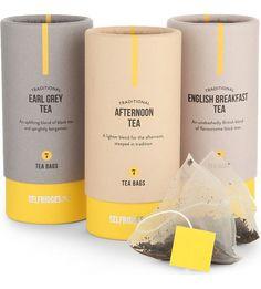 Selfridges selection traditional tea trio collection