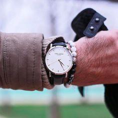 Wrist details! #LW43. www.larsenwatches.com