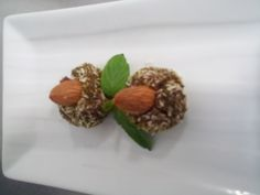 raw almond truffles