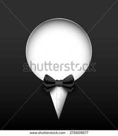 Tuxedo vector banner. Vector illustration. Can use for promotion banner. - stock vector