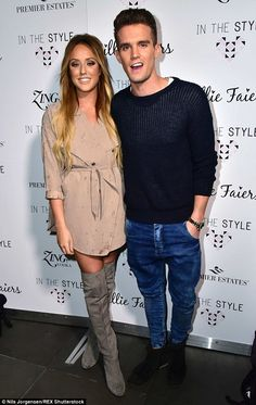 Date night: Geordie Shore's on/off couple made their reignited romance official earlier in...