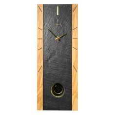 Pendulum Clocks | Vaerst 2738 Rectangular Slate Pendulum Clock