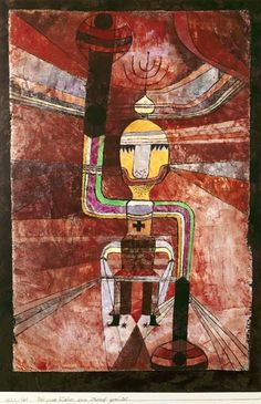Paul Klee, The great emperor, armed for battle, 1921 Kandinsky, Cavalier Bleu, Art Is Dead, Paul Klee Art, Organic Art, Bern, Naive Art, Kaiser, Oeuvre D'art