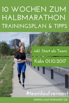In 10 Wochen zum Halbmarathon – Dein Trainingsplan für Do you want to compete in your first half marathon or have you decided at short notice to start in a competition? This plan will make you fit in 10 weeks. Workout Plan For Beginners, Workout Plan For Women, Sports Training, Running Training, Frankfurt Marathon, Weekly Workout Plans, Training Plan, Fitness Tracker, Get In Shape