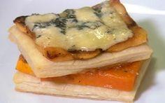 Tortino di Zucca (provare invece la variante zucca, cipolline borettane, Gorgonzola dolce e glassa di aceto balsamico)