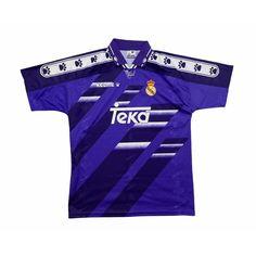 REAL MADRID 1994/96 AWAY FOOTBALL SHIRT (M)