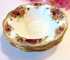 Royal Albert Old Country Roses Lace Sugar Bowl & Creamer New   Rose ...
