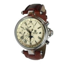 From the Padron Watch Company: Steinhausen Mechanical Chronograph Watch
