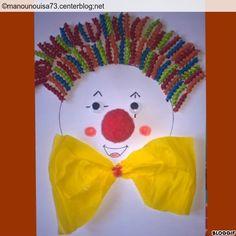 Le clown pâtes