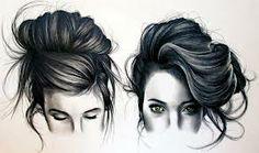 Hairs drawings
