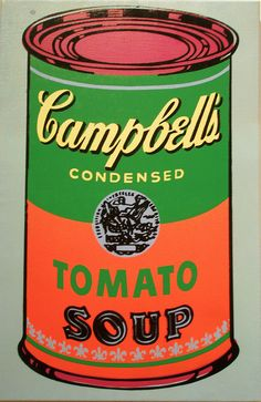 Andy Warhol 'Campbell's Soup', 1965, Milwaukee Museum of Art, Milwaukee, Wisconsin by hanneorla, via Flickr (pop art)