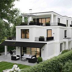 45 luxury modern house exterior design ideas – My Ideas Indian Balcony Designs, Architecture Design, Amazing Architecture, Modern Architecture Homes, Architecture Colleges, Computer Architecture, Roman Architecture, Design Exterior, Black Exterior