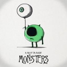 I wish he would make a movie of the monsters