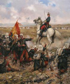 Defensa de Melilla, 1893. Ferrer Dalmau