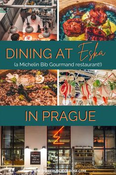 Calling all foodies visiting Prague: Eska is a must! This Michelin Bib Gourmand restaurant offers incredible food, a bakery and a hip vibe. #Prague Travel Advice, Travel Guides, Travel Tips, Visit Prague, Prague Travel, Restaurant Offers, Countries To Visit, The Republic, Foodie Travel