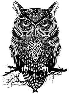 tattoo owl