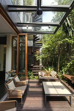 Terrassengestaltung - Ideen für die Terrasse - Terrassenbepflanzung - kreative Terrasse - Holzterrasse