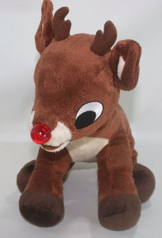 Rudolph The Red Nosed Reindeer Commonwealth Plush Stuffed Animal Christmas  #Commonwealth