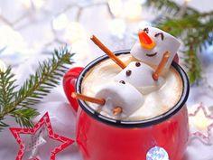 Zuckersüß und drollig! Süße Schneemann Fun-Foods auf EAT SMARTER!