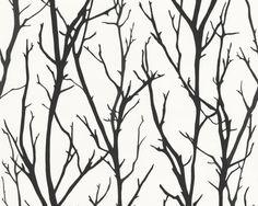 Black & White : 268341 Black and White Wallpaper Plain Wallpaper, Black And White Wallpaper, Brick Wallpaper, Tree Wallpaper, Textured Wallpaper, Wallpaper Roll, Pattern Wallpaper, Bathroom Wallpaper, Animal Print Wallpaper