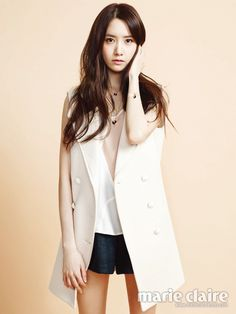 2014.04, Marie Claire, Girls' Generation, Yoona