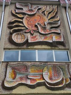 Places Of Interest, Mosaics, Ukraine, Stained Glass, Pictures, Painting, Photos, Painting Art, Paintings