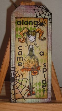 Artwork created by Corina using rubber stamps designed by Daniel Torrente for Stampotique Originals