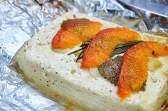 Ninas kleiner Food-Blog: Feta-Grillpäckchen mit Aprikosen, Zitronenmelisse und Rosmarin