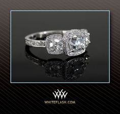 http://rubies.work/0846-ruby-pendant/ Three stone halo anniversary ring. Nice!